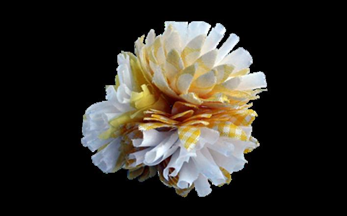 Fiore in cotone TONIA cm06