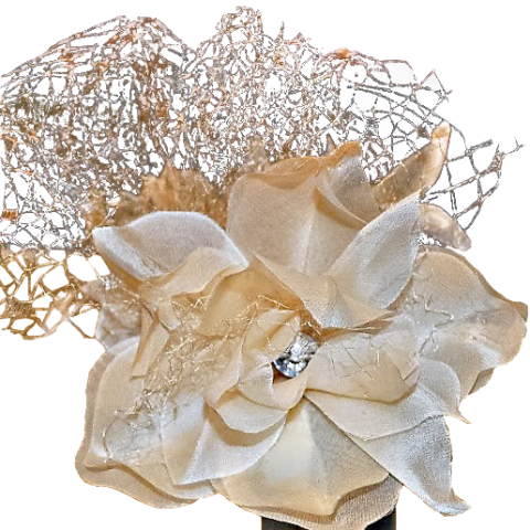 fiori per acconciature