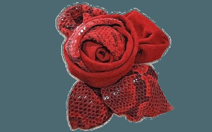 Rosa girata in pelle CAREN cm08