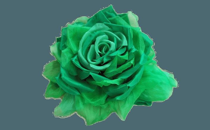 Rosa in organza TEA cm22