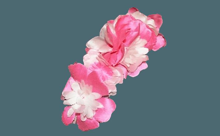 Cerchietto fiori in organza GIADA