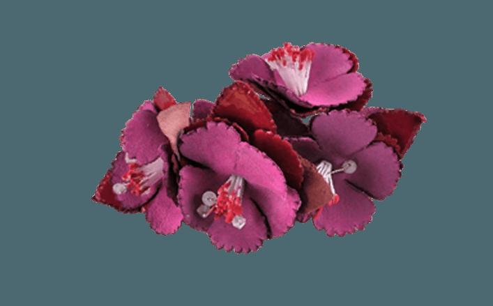 Fiorellini in pelle ASLAG cm06