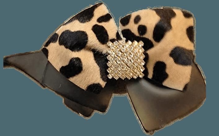 Fiocco in pvc e pelle con accessorio HITA