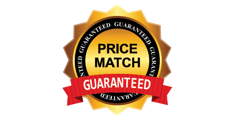 Price match guarantee badge