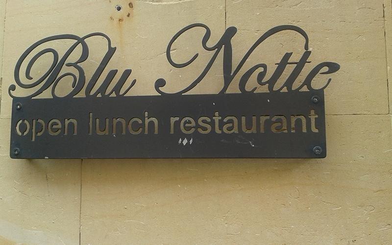 ristorante all aperto