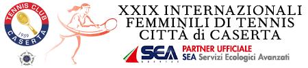 SEA - Partner Ufficiale XXIX Internazionali Femminili di Tennis - Città di Caserta