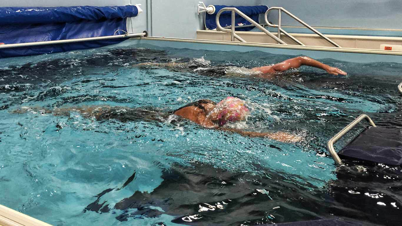 wet training fitness