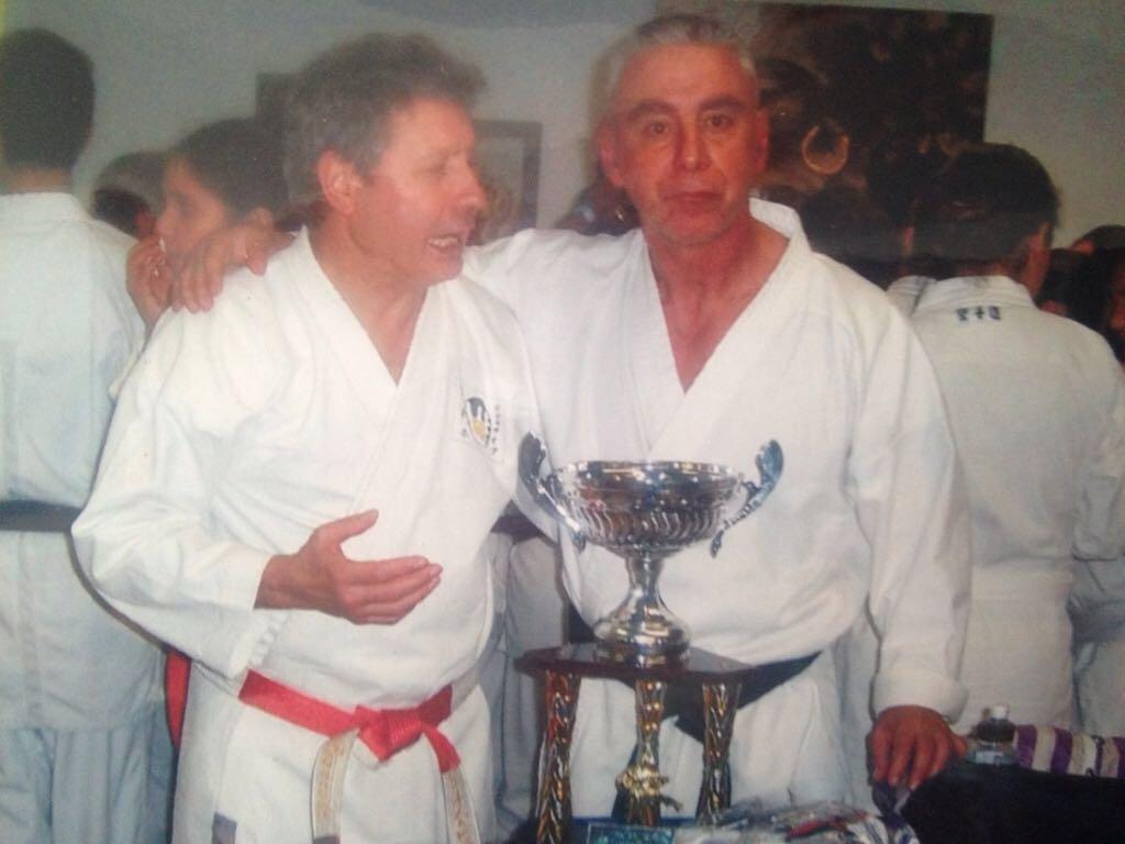 Due maestri di karate