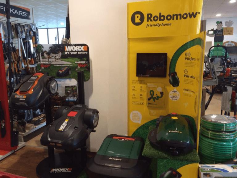 ESPOSITORE ROBOMOW CENTRO HOBBY
