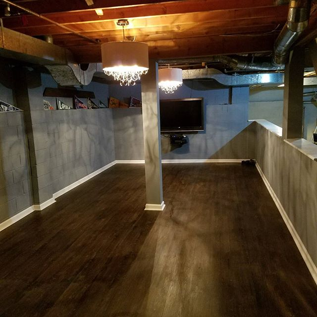 basement remodeling, basement renovation