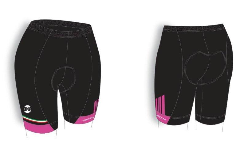 pantaloncini ciclismo donna