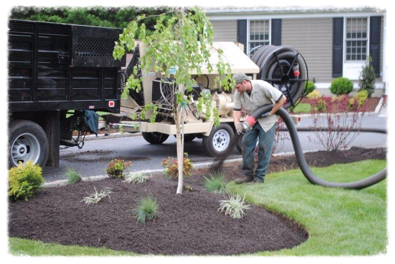 Mulch Spreading Services Milford, CT