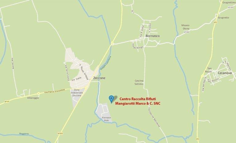 centro raccolta rifiuti bornasco pavia