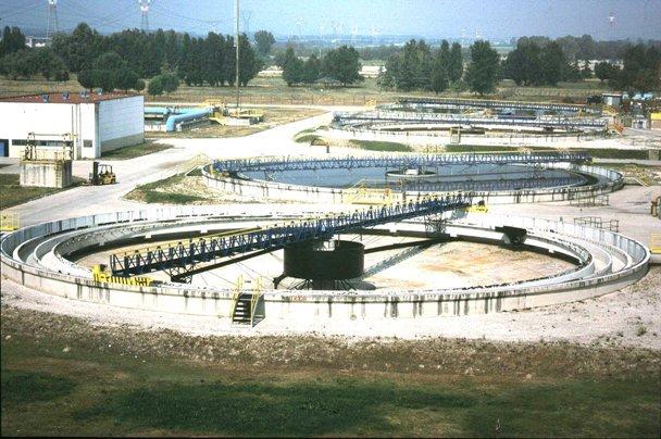 Impianto di depurazione di acqua