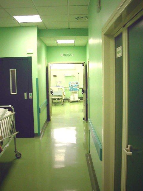 Corridoio di un ospedale