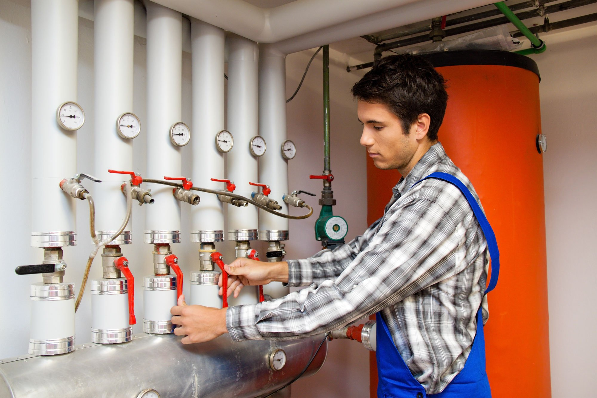 Professional checking Heating System