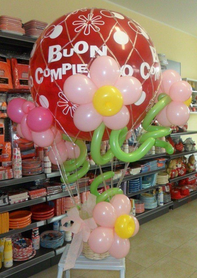 Numeri gonfiabili e palloncini per feste a Dolzago