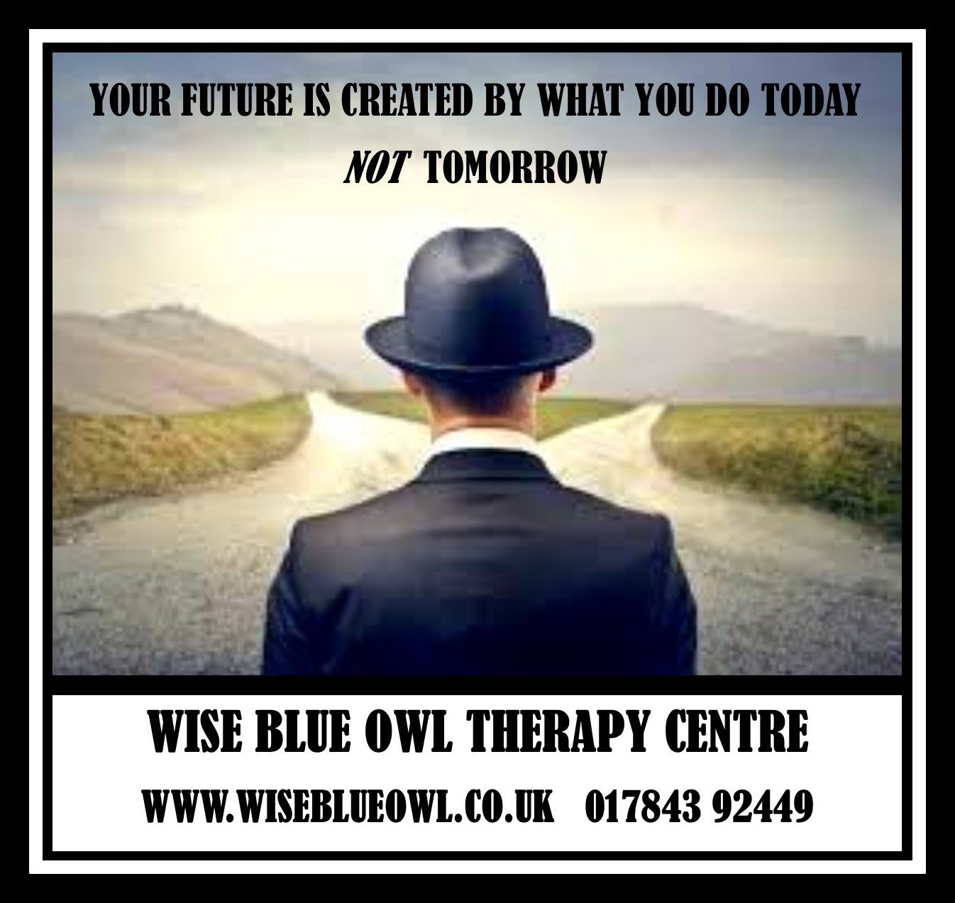 man in hat with lack of self confidence and needing hypnosis at wise blue owl therapy centre