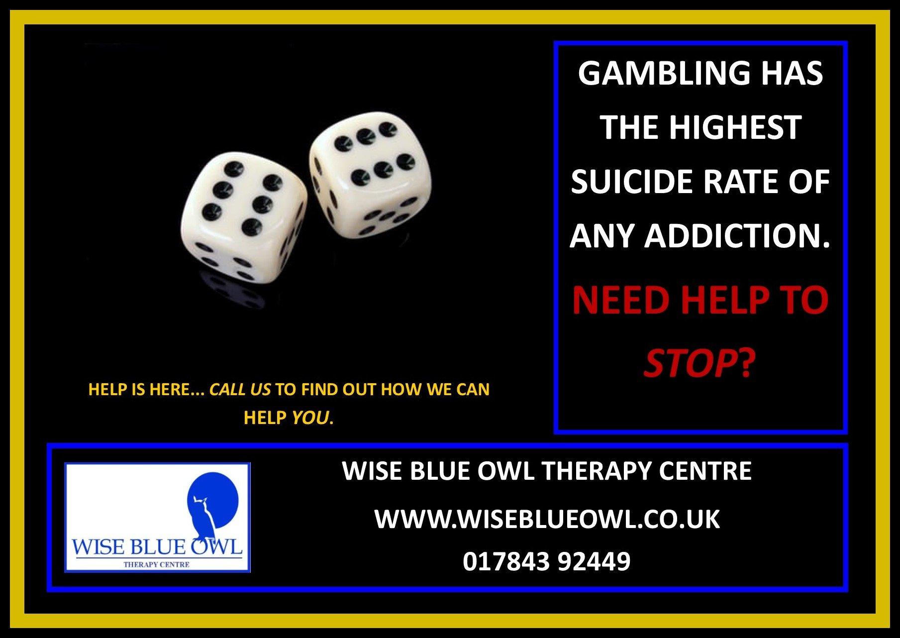gambling addiction poster