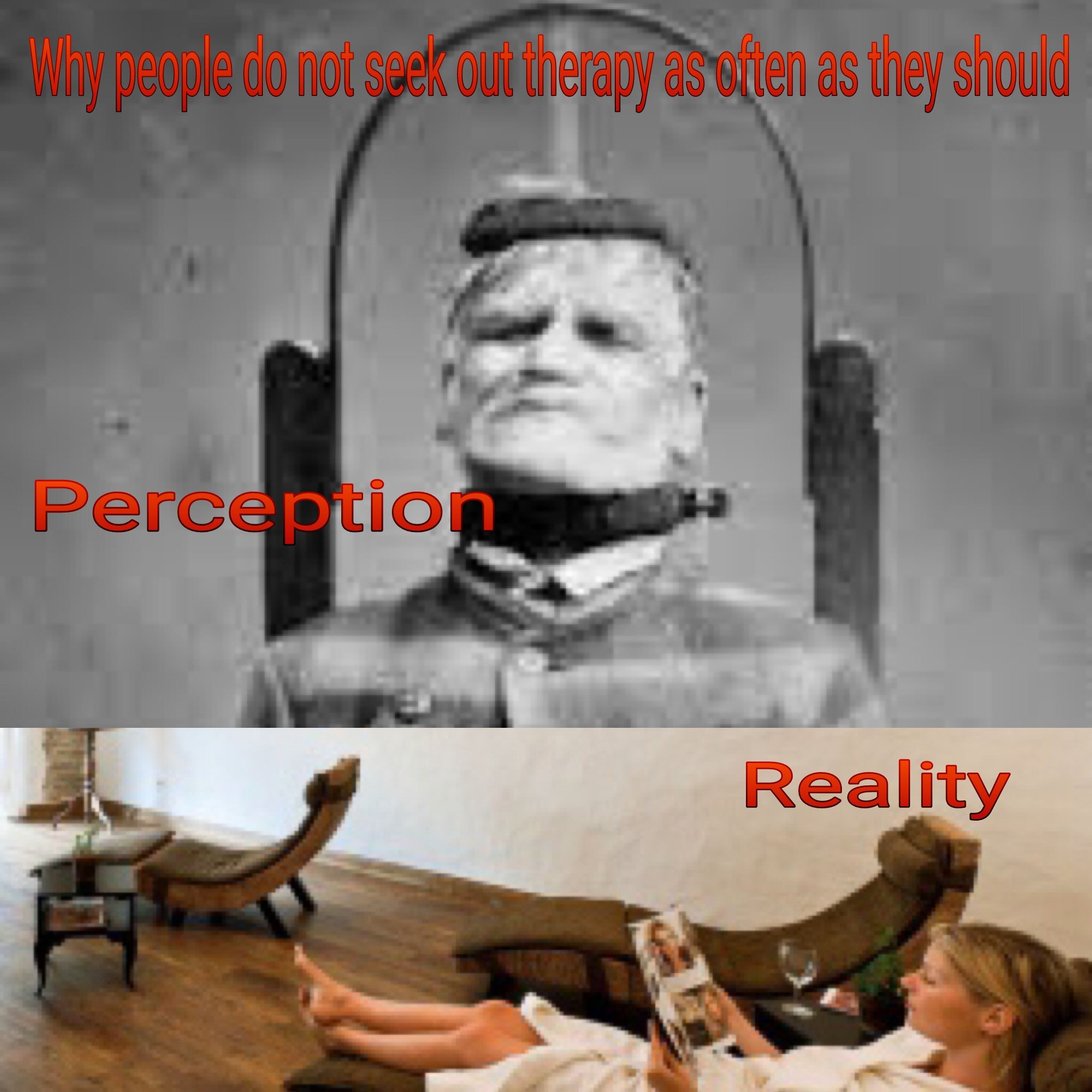 perception reality poster for mental health