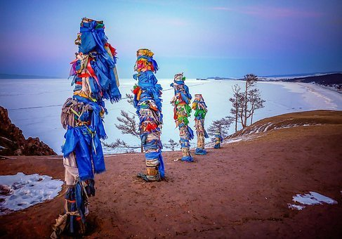 group of shaman