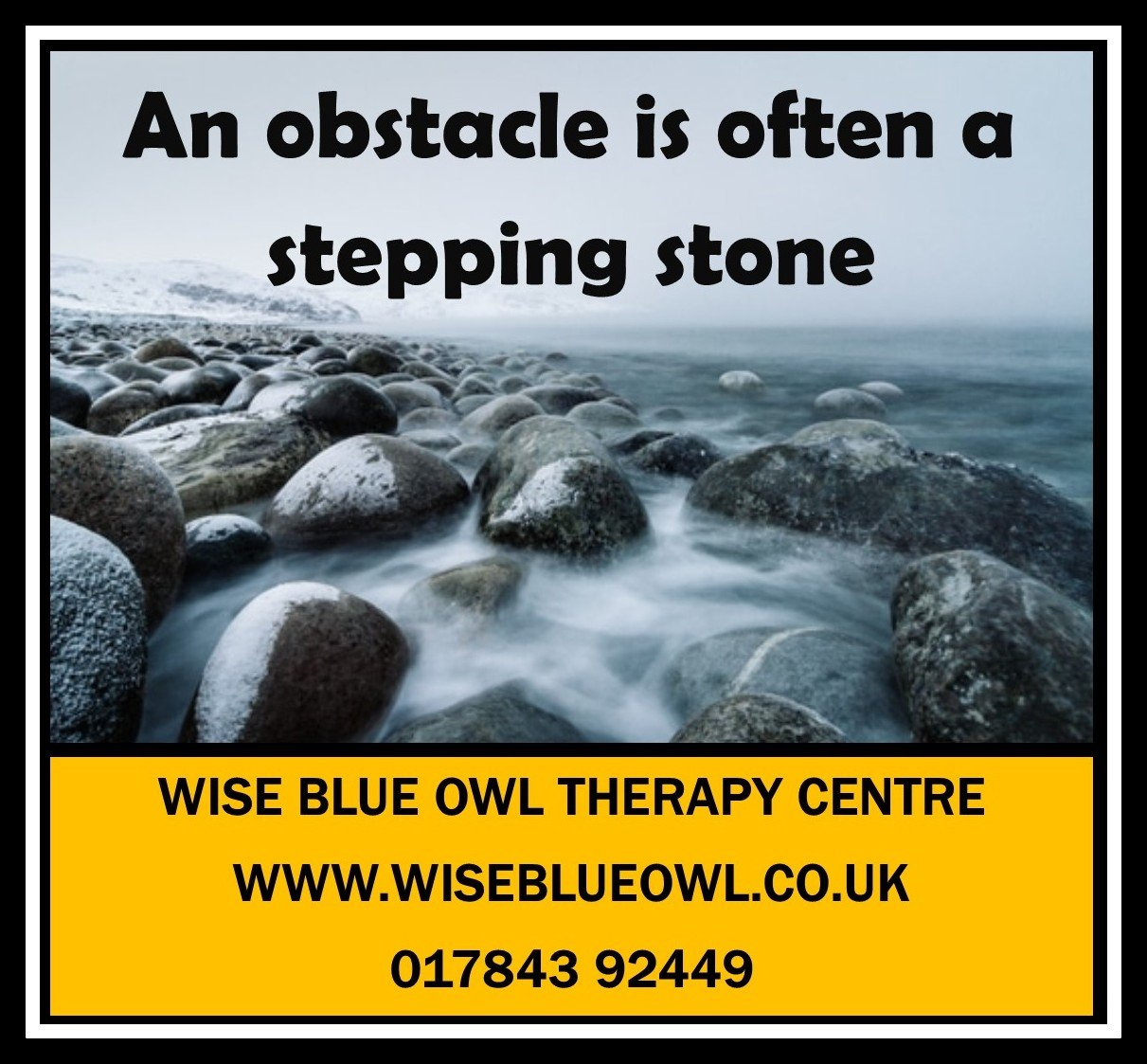 stepping stone poster