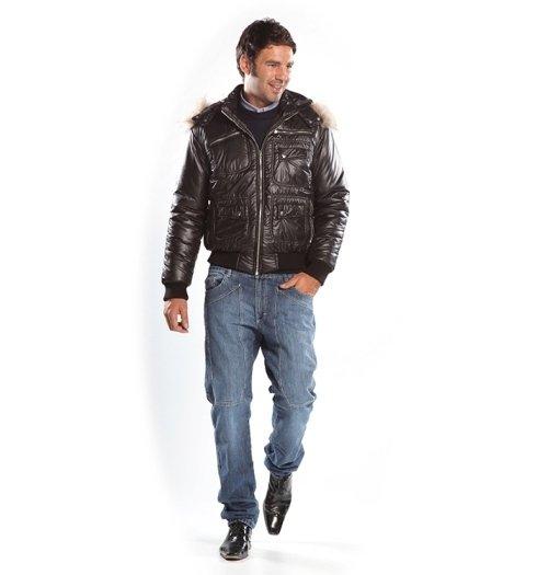 giacca con cappuccio
