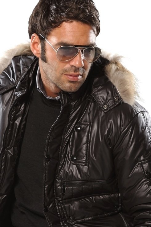 giacca impermeabile con cappuccio