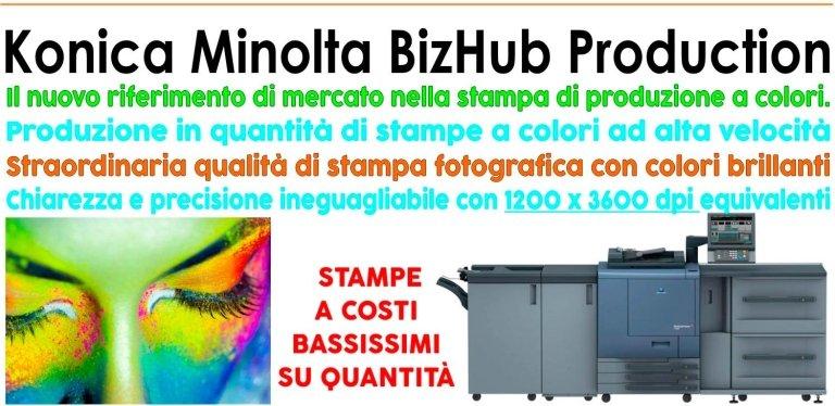 stampa fotografica con colori brillanti