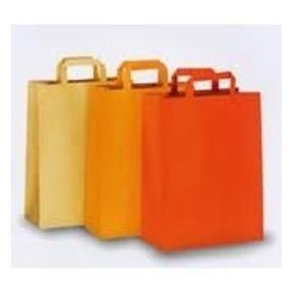 buste arancioni e gialle