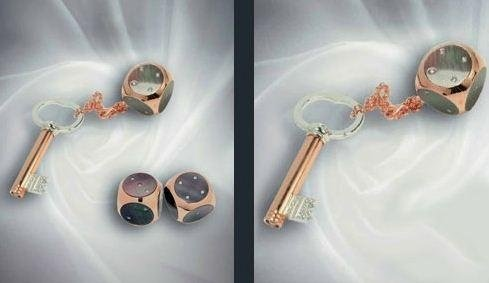 Pendenti per chiavi preziosi