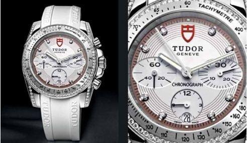 Orologi Tudor con cinturino bianco