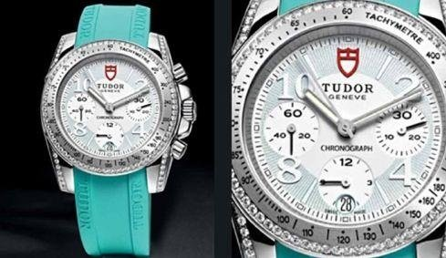 Orologio Tudor con cinturino turchese