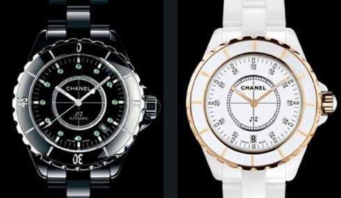 Orologi CHANELl bianco e nero