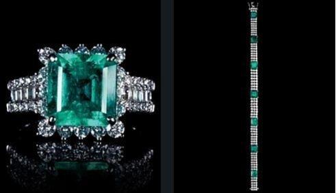 Gioielli Cielo con smeraldi