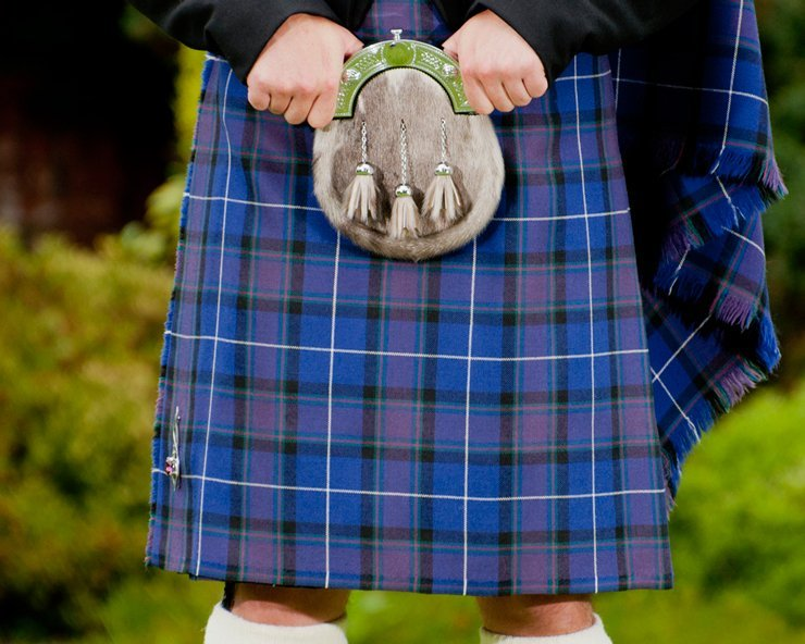 Alba Tartan, exclusive to Highland Scene