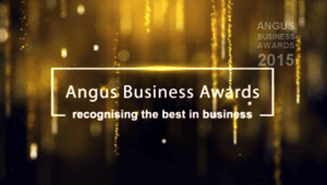 Angus Business Award logo