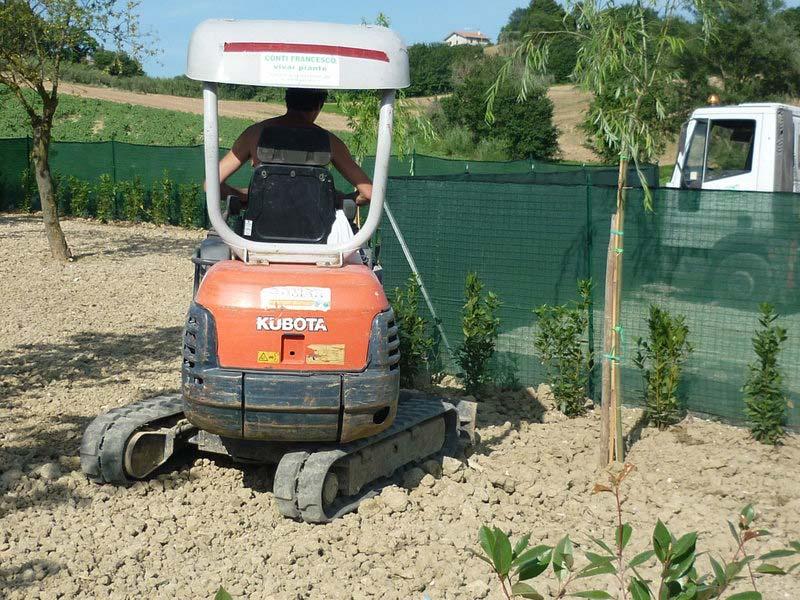 Cura e manutenzione degli alberi e giardini a Ostra Vetere