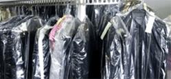 sacchetti in plastica per indumenti