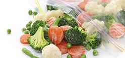 sacchetti in plastica per alimenti