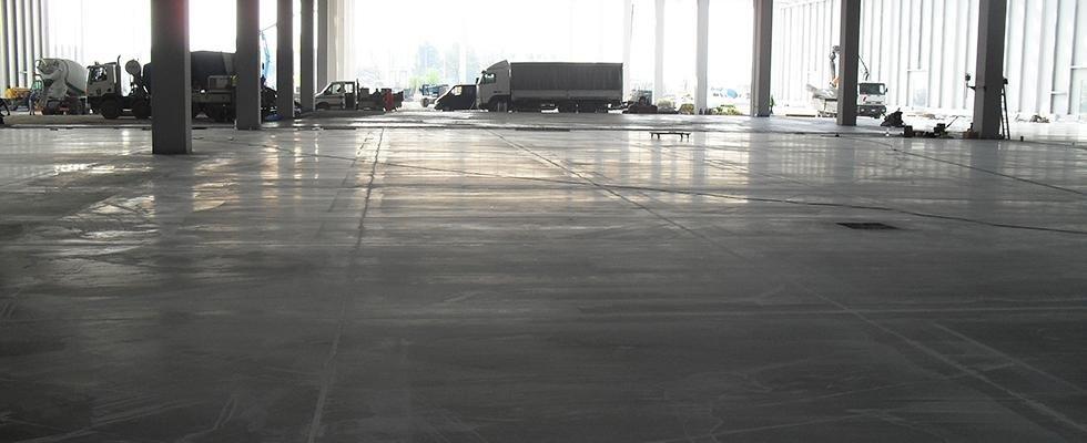 Pavimentazioni industriale logistica