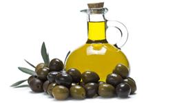 bottiglietta con olive