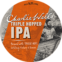 logo Charlie Wells Triple Hopped IPA
