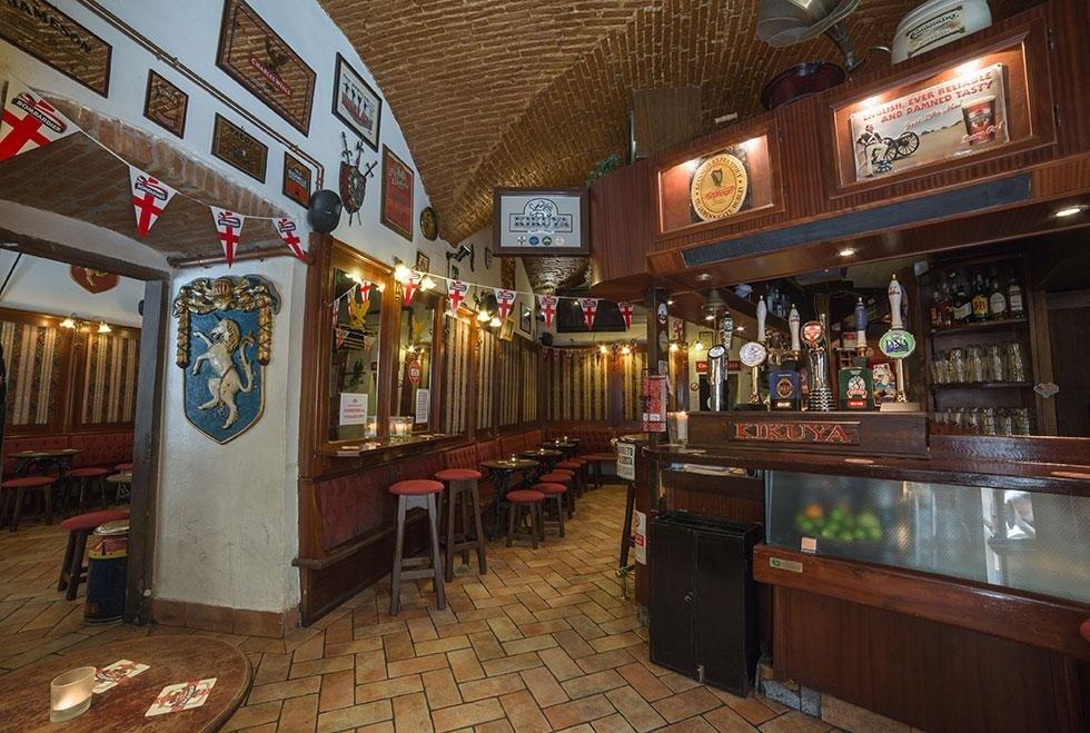l'interno del Pub Kikuya