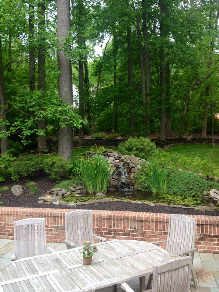 Paver patios and routine lawn maintenance from Cook Bros PA
