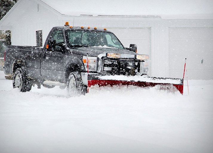 Contact Cook Bros Estate Services for all of your commercial snow removal needs.