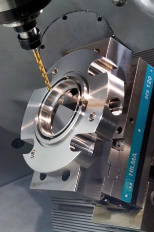 CNC machining work
