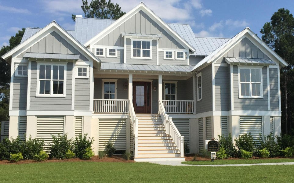 Charleston Elevated Home Plans House Design Plans