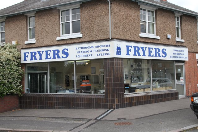 Fryers showroom
