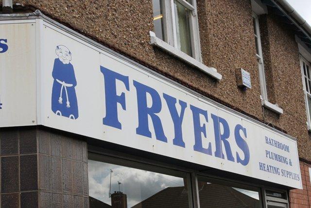 Fryers shop front